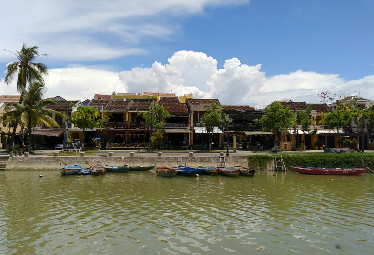 Hoi An riverside view