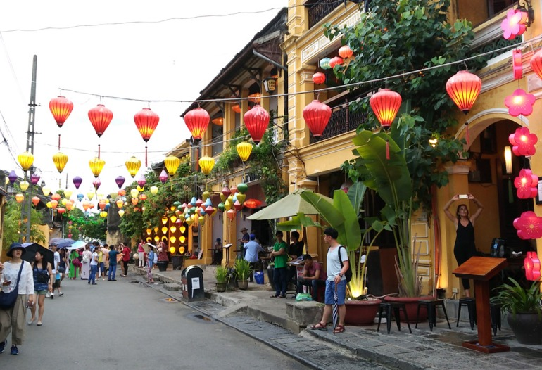 Hoi An Old Town in the afternoon
