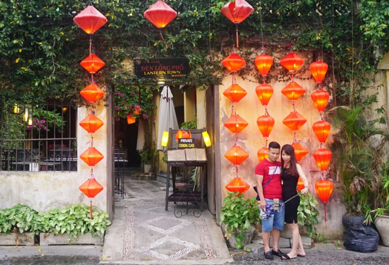 A lot of selfie spot in Hoi An