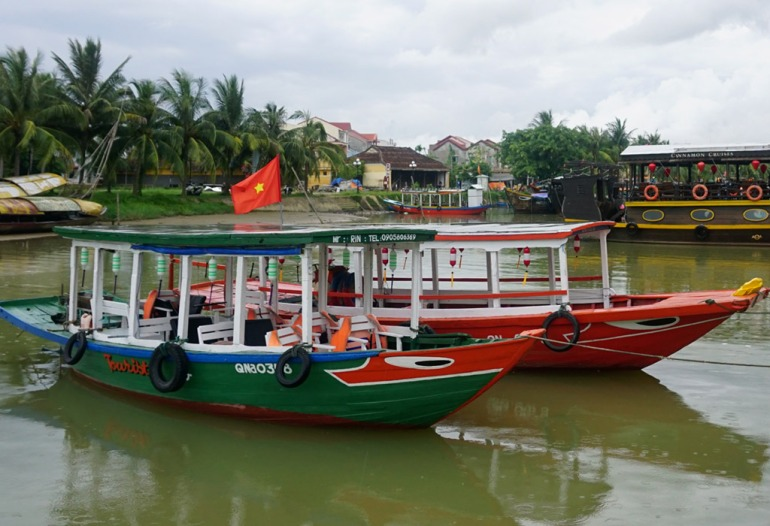 Hoi An river cruise